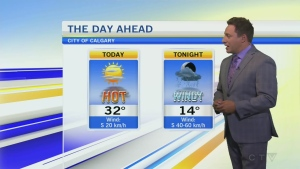 Heat warning continues in Calgary