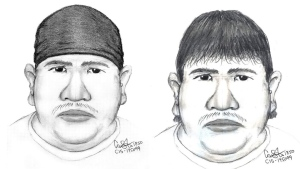 Winnipeg police have released these composite images of the suspect in the Thelma Krull case.