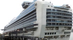 The Emerald Princess cruise ship is docked in Juneau, Alaska, Wednesday, July 26, 2017. (AP / Becky Bohrer)