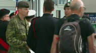 Wounded Warriors land to warm welcome in Saskatoon