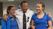 Erlam family - WestJet flight to Canada Games