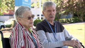 Lorraine and Joe Papp, an elderly couple living in two different care facilities, are making an emotional plea to be reunited under the same roof. July 27, 2017.