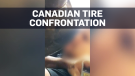 Video of confrontation at Canadian Tire in Regina