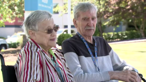 Lorraine and Joe Papp have been married for 62 years.