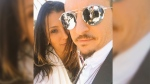 Talinda Bennington and her husband Chester Bennington are seen in this picture she posted to Twitter as part of a Father's Day post dedicated to her husband on June 18th, 2017. (@TalindaB / Twitter)