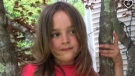 Sia Van Wyck, 7, died after being struck by a tractor in Nova Scotia's Annapolis County. (GoFundMe)