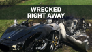 Owner wrecks new Ferrari an hour after purchase