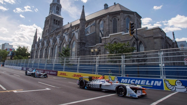 Electric Car Race Montreal