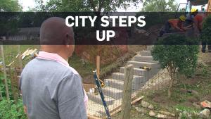 Toronto replaces $550 staircase