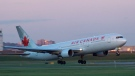 An Air Canada Boeing 767 is shown in a handout photo. (HO-Air Canada/The Canadian Press)