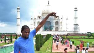 Kevin Durant Taj Mahal