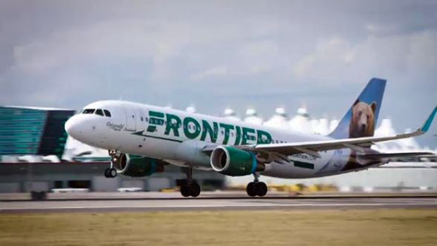 Frontier Airlines is launching flights from Calgary to Denver, Colo.