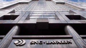 The offices of SNC Lavalin are seen in Montreal on Monday, March 26, 2012. (THE CANADIAN PRESS/Ryan Remiorz)