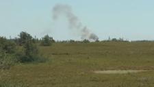 Miscou island fire