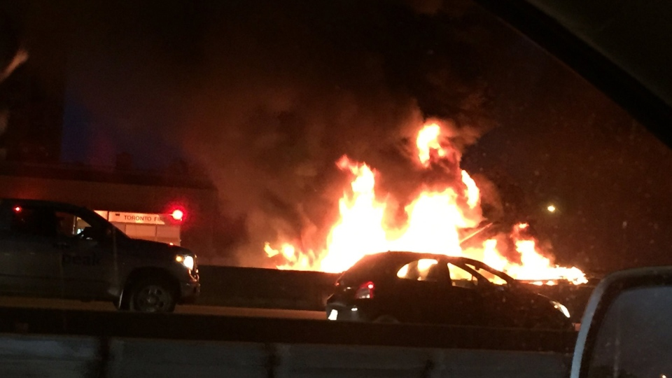 Toronto Monday Avenue Road Car Accident