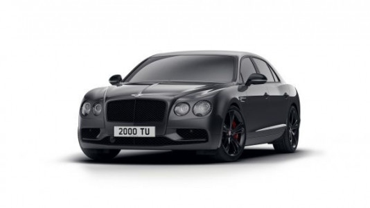 New special edition Bentley Flying Spur V8 S Black Edition