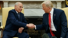 White House Chief of Staff John Kelly sworn in