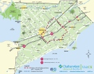 Chatham-Kent detour map (Courtesy of Municipality of Chatham-Kent)