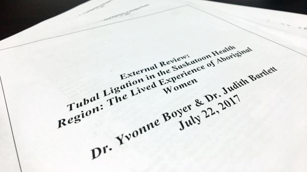 Tubal ligation report