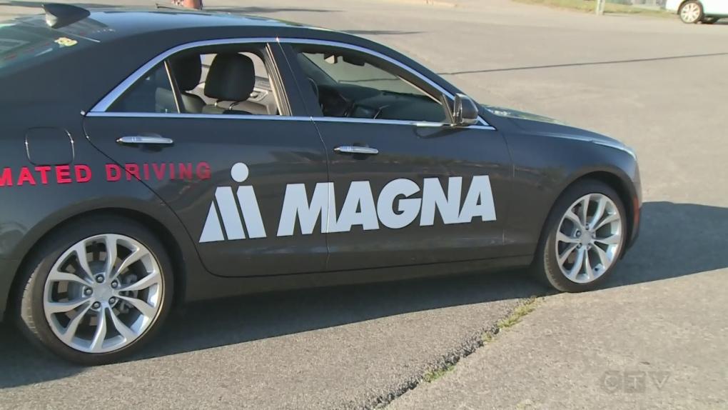 Self-driving cars cross international border