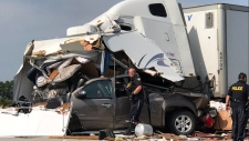 Deadly crash on Highway 401