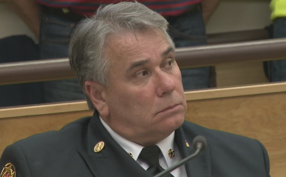 Former Sault Ste. Marie fire chief Mike Figliola left the department back in May. (File photo)