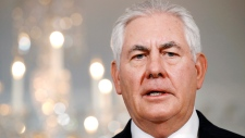 In this July 21, 2017 file photo, U.S. Secretary of State Rex Tillerson speaks at the State Department in Washington. (AP Photo / Jacquelyn Martin, File)