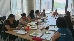 Indigenous women are taking a course at UQAM to learn how to be better leaders (Aug. 1, 2017)