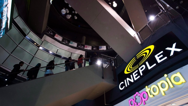 Cineplex says phone app trivia game TimePlay is leaving its theatres