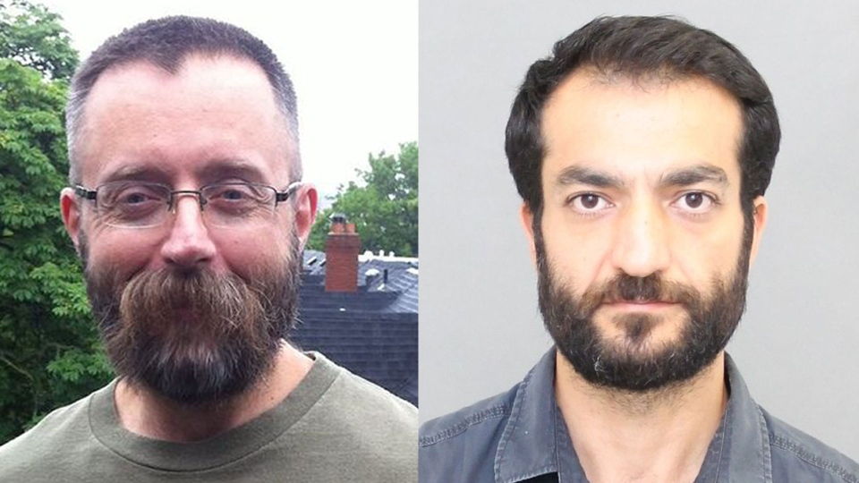 Missing Toronto men Andrew Kinsman (left), and Selim Esen. (Toronto Police)