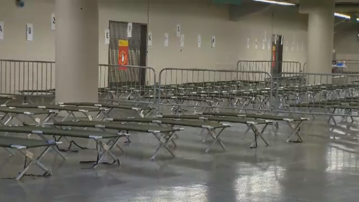Approximately 100 to 400 beds will be available within the Olympic Stadium to accommodate refugees seeking asylum in Canada. (CTV Montreal)