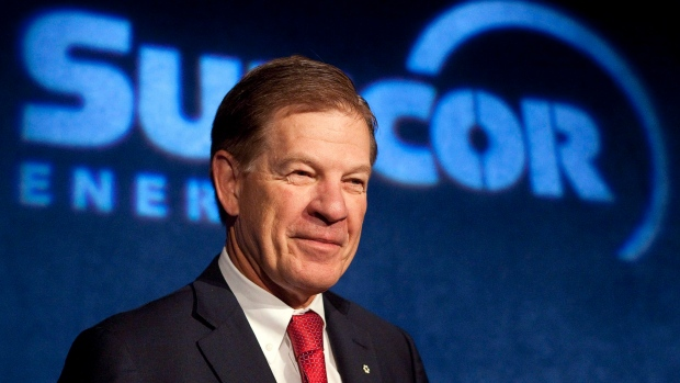Rick George, former CEO of Suncor Energy and a pioneer of Canada's oilsands industry, has died at the age of 67. (THE CANADIAN PRESS/Jeff McIntosh)
