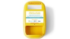 A sunscreen dispenser (BeSunSafe.ca)