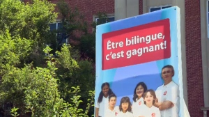 The EMSB's slogan says being bilingual leads to success, but not everyone in Quebec thinks that way.