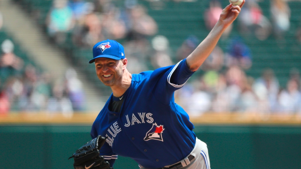 Toronto Blue Jays starting pitcher J.A. Happ