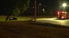 Single vehicle crash on Hwy 417 at Nicholas 2