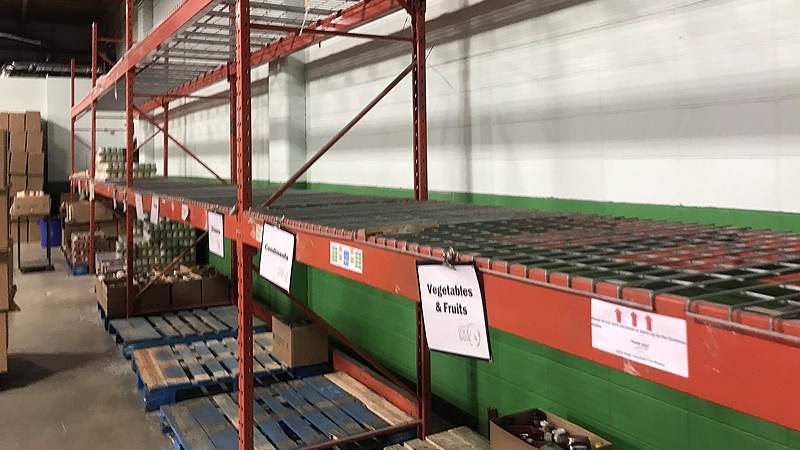Edmonton's Food Bank is putting out a call for more donations, saying the organization has had to depend on purchased food to fill hampers.