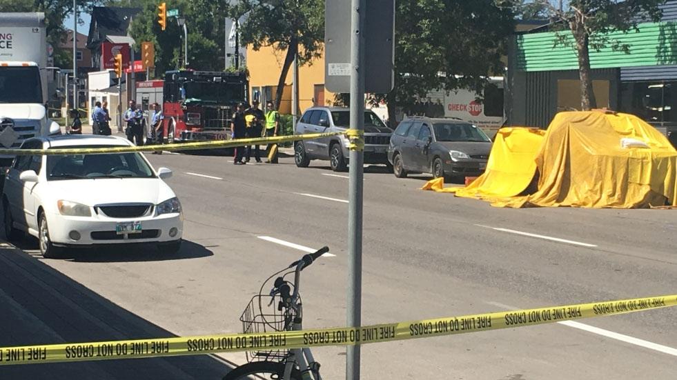 Fatal Marion Street crash