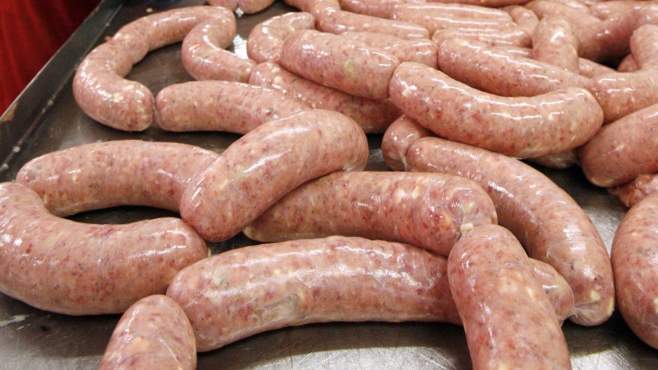 Sausages are shown in this file photo. (Dan Powers / The Associated Press)