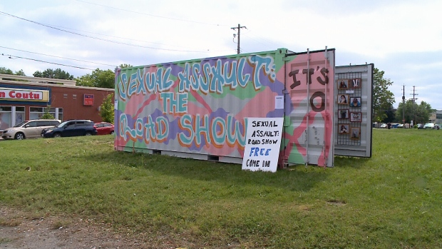 Sexual Assault: the Roadshow on Montreal Road.
