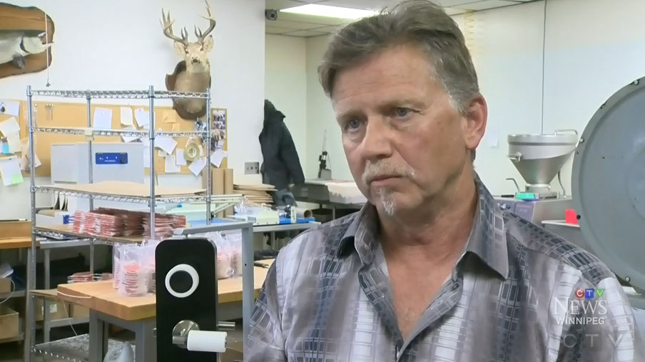 Manitoba inventor creates germ-killing salt door handle covers | CTV ...
