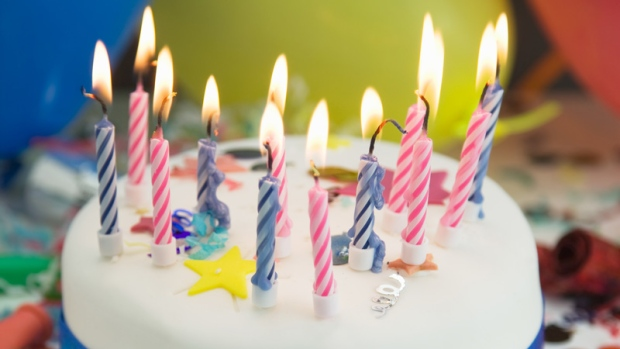 Blowing out candles spreads germs