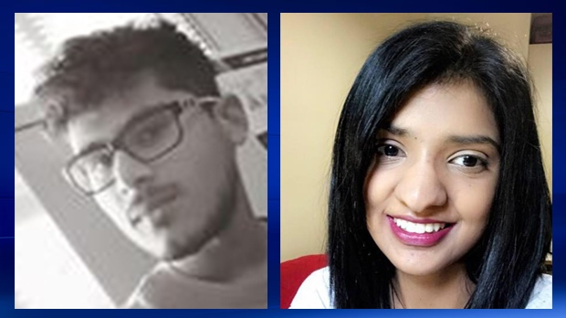Friends have identified the victim's of Wednesday's fatal parking lot as siblings Ritvik Bale and Rashmi Bale (Facebook)