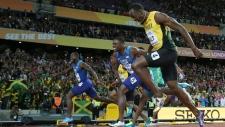 United States' Justin Gatlin wins gold at  IAAF