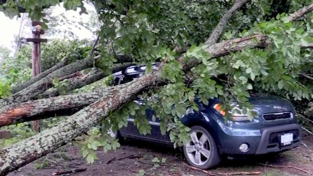 Tornado touches down near Huntsville