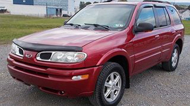 Police released this image of a vehicle Adam Wasiela may be driving. (source: OPP)