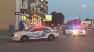 Police investigate after a man was stabbed in a depanneur in Montreal North
