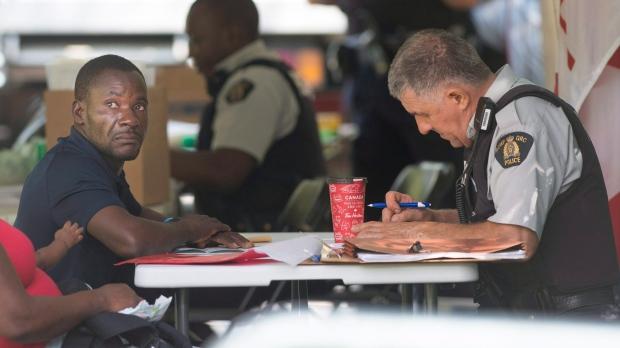 Asylum seeker in Montreal