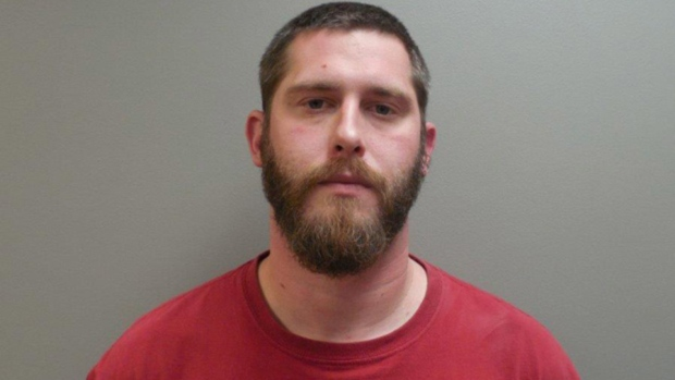 This undated image provided by the Paulding County Sheriff's Office shows Branden Powell. (Paulding County Sheriff's Office via AP)