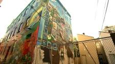 mural, Graffiti Alley,